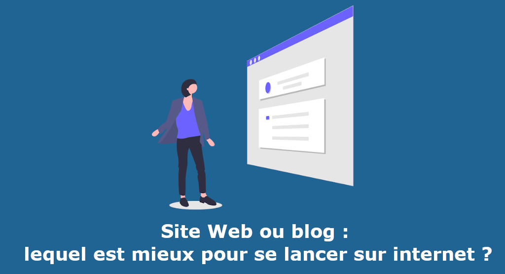 site web ou blog