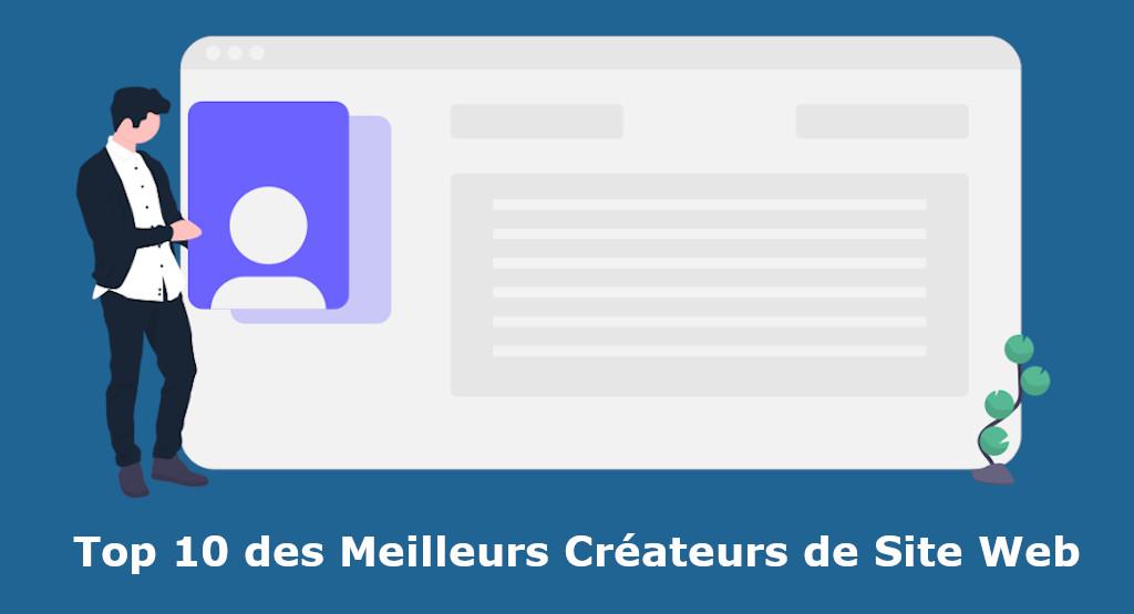 top createurs de site web