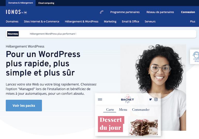 hebergeur wordpress ionos