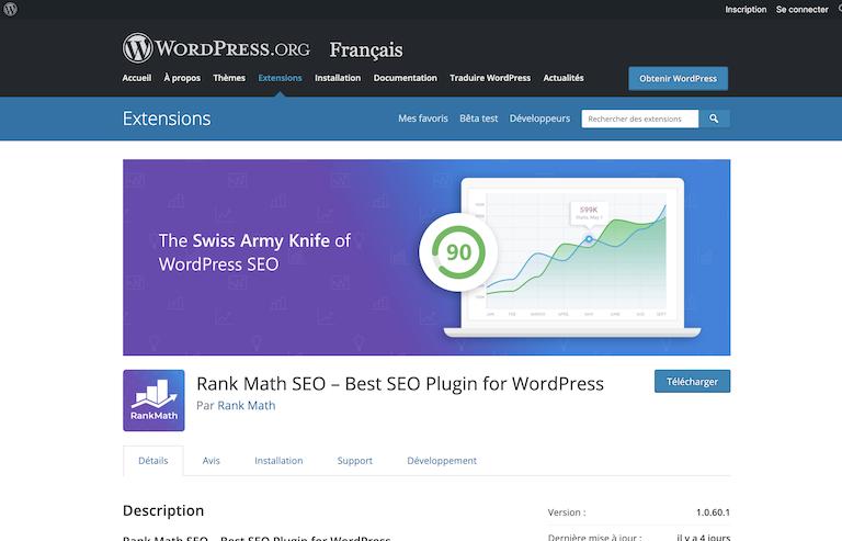 extension wordpress rank math