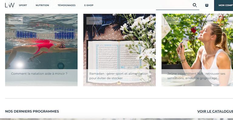 top blogs féminins lucille woodward