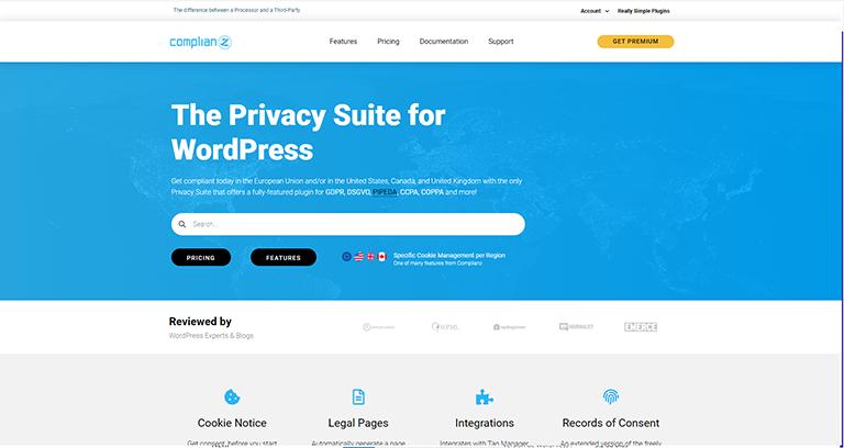 Complianz – Extension WordPress RGPD