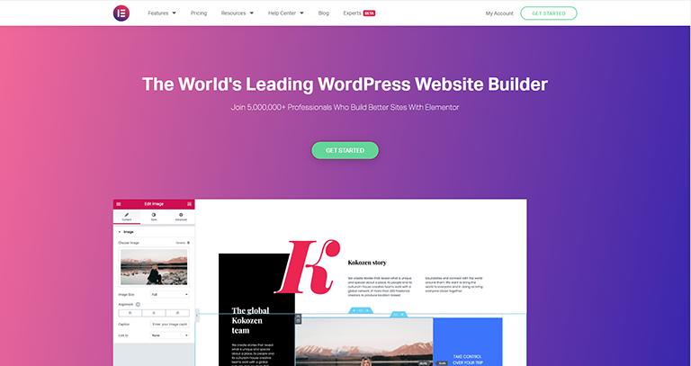 Elementor – Constructeur de pages
