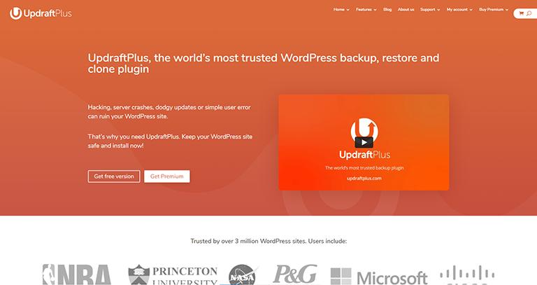UpdraftPlus – Excellent plugin de sauvegarde
