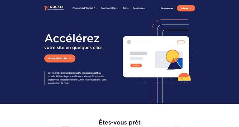 WP Rocket – Extension WordPress de mise en cache