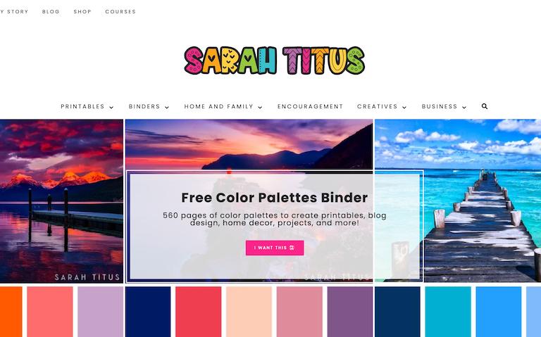 blogs USA sarah titus