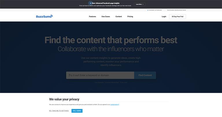 buzzsumo - plugin wordpress