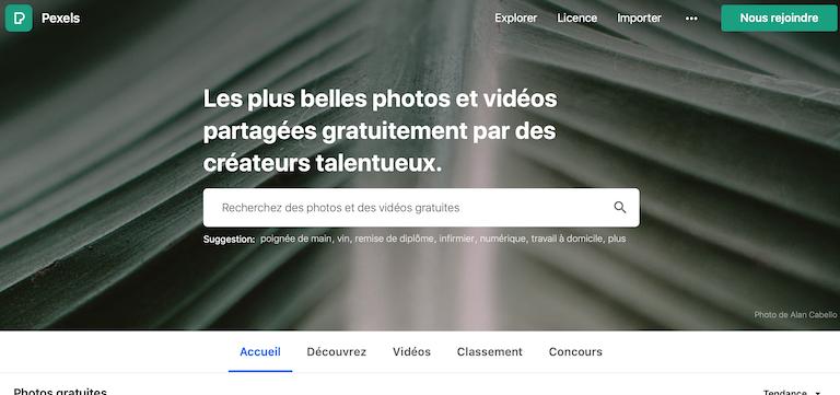 pexels images gratuites