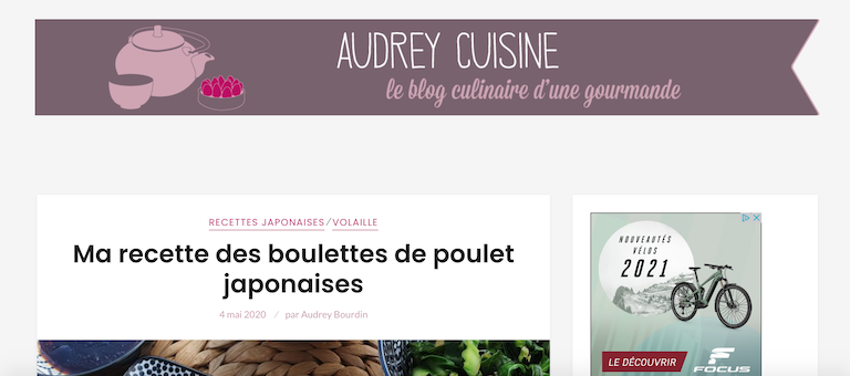 audrey cuisine top blog cuisine